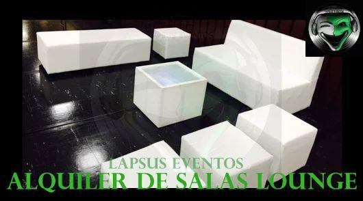 Sala Lounge en Alquiler | Lapsus Eventos | Tel: 374 7470 | 300 761 5600 - 301 583 8089 | WhatsApp y Redes Sociales