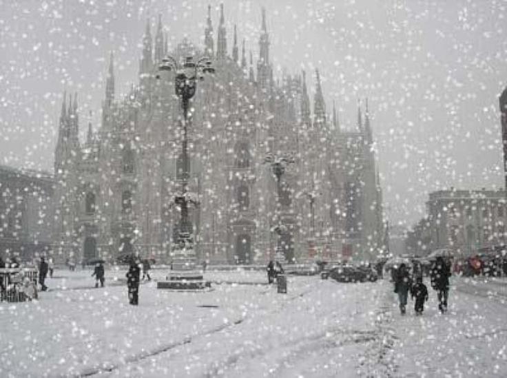 Duomo di Milano - winter, inverno 2012