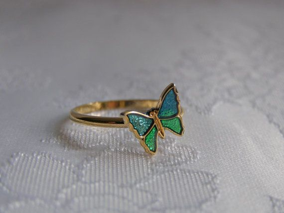 Butterfly Ring from Avon.