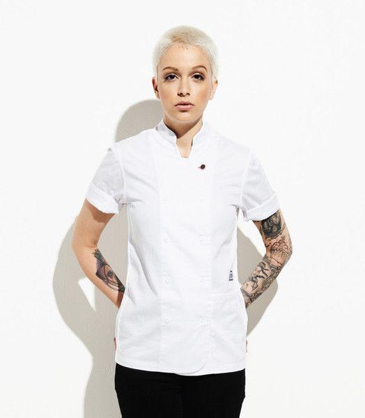 Women's Short Sleeve Chef Coats