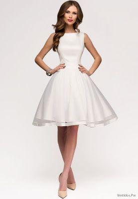 083e7654a Vestidos Blancos de Noche Vestido Blanco Mujer