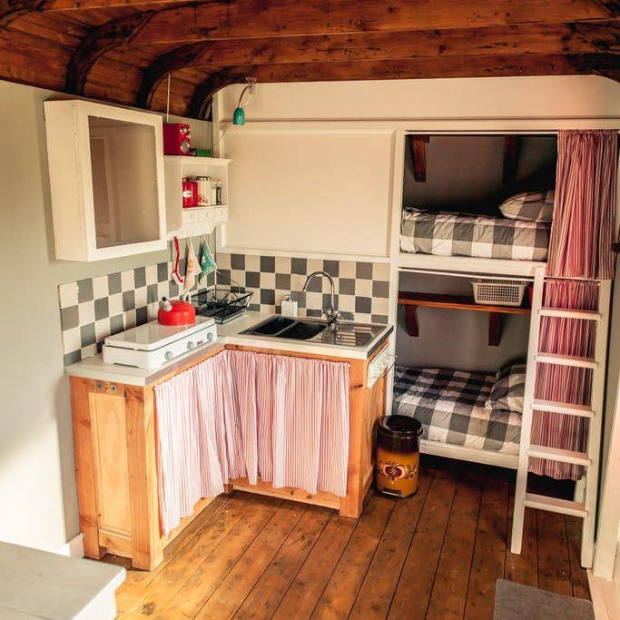 Shepherd Hut Floor Plans: Keuken Woonwagen - Google Zoeken
