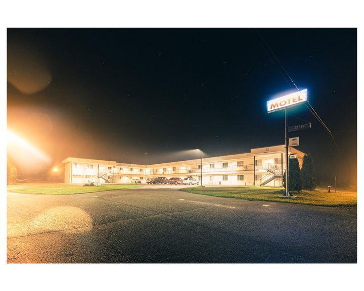A night at the Motel. Blue River British Columbia