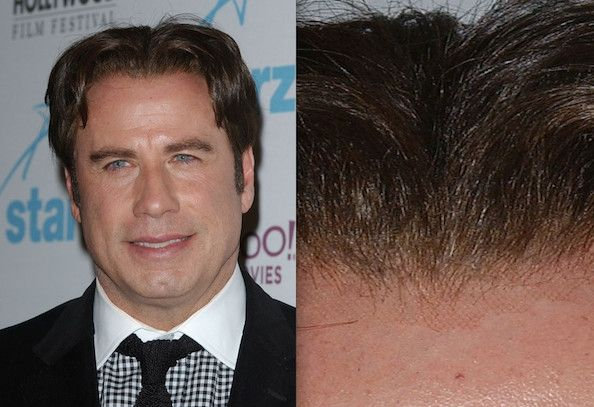 Famous Hollywood Men With Great Hair Pieces JOHN TRAVOLTA John Travolta Hollywood Wigs And Weaves Stylebistro