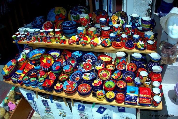 Eine große Auswahl von Souveniers findet man auf der #Insel #Kos in dem Bergdorf #Zia. #Griechenland #greece #island #Dodekanes #KosIsland