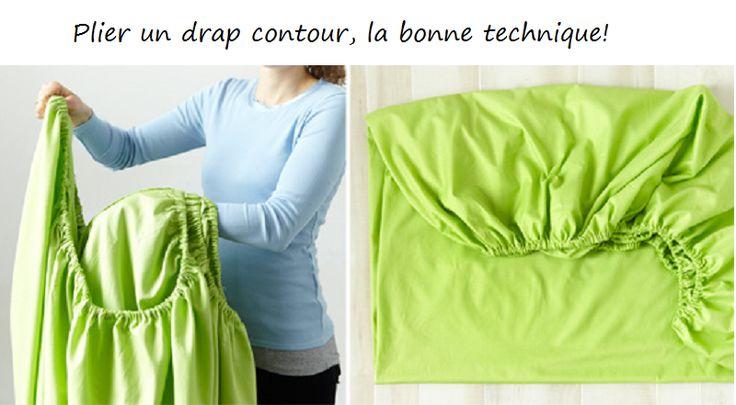 Les 101 meilleures images du tableau couture confection sur pinterest couture tricot la - Plier un drap housse ...
