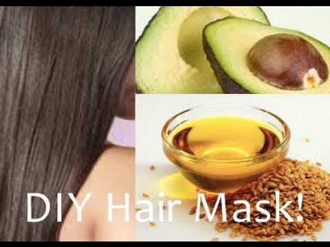 DIY Hair Mask- Avocardo & Flaxseed Oil for Incredible Healthy, Silky Hair! - YouTube