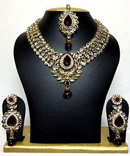 Indian Bollywood Style Gold Plated Traditional Kundan Cz ... https://www.amazon.ca/dp/B01LY7ODJV/ref=cm_sw_r_pi_dp_x_C0ROybAX8Q4MD