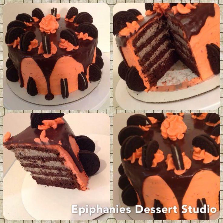 Cookie Cream Ice Cream Cake