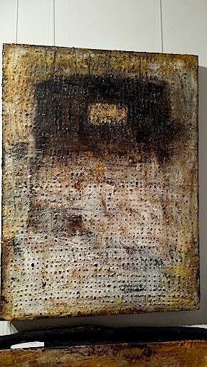 Laura Buhai Frings: Wax, wood , pigments