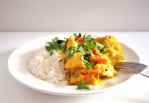 Cocina para Urbanitas: Receta de curry de pollo de leche de coco