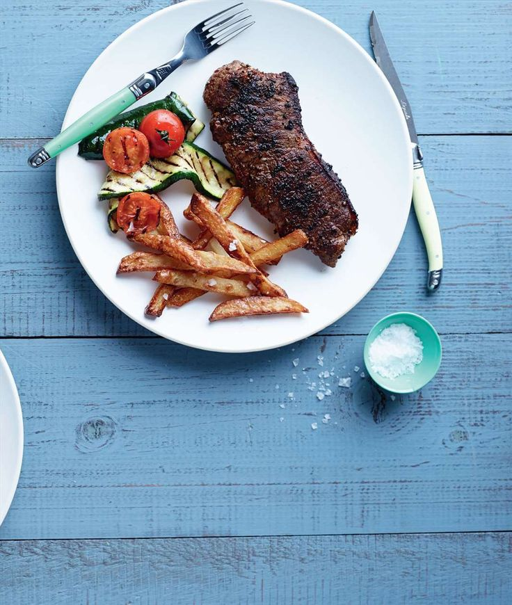 Steak with spicy salt by Jane Kennedy from One Dish. Two Ways | Cooked