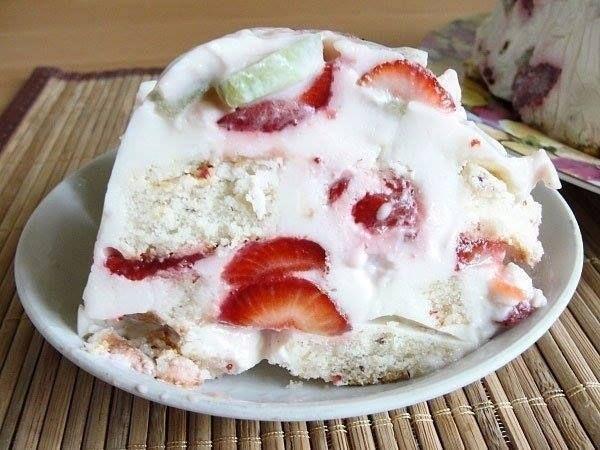 Тортик на десерт - быстрый и вкусный