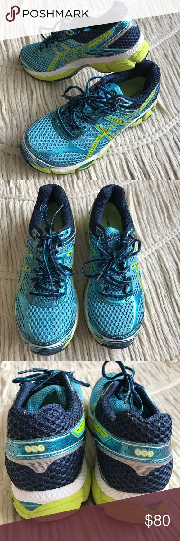 Asics GEL-CUMULUS 16 running exercise sneakers Asics GEL-CUMULUS 16 running sneakers size 9. Like new. Worn maybe once. Awesome! Asics Shoes Sneakers