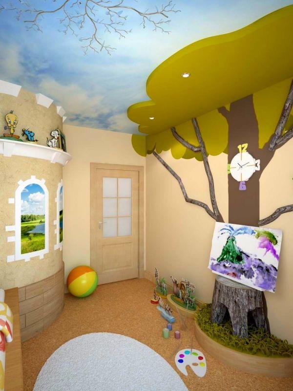 Детская комната для маленького мальчика дизайн фото