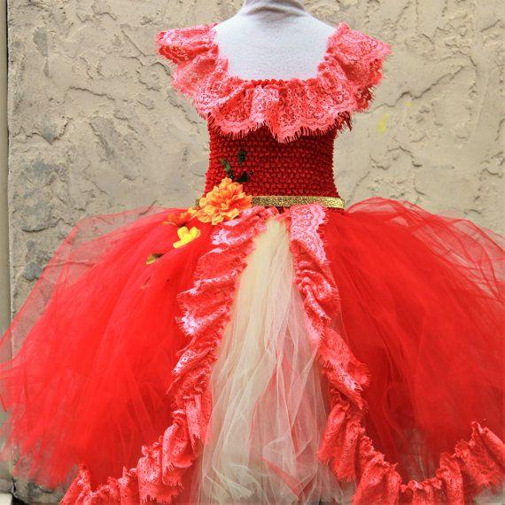 Elena de Avalor Dress  princesa Elena Dress  Elena Costume
