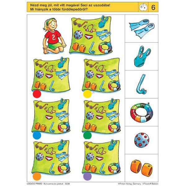 Logico Primo feladatkártyák - Koncentrációs játékok - . kép