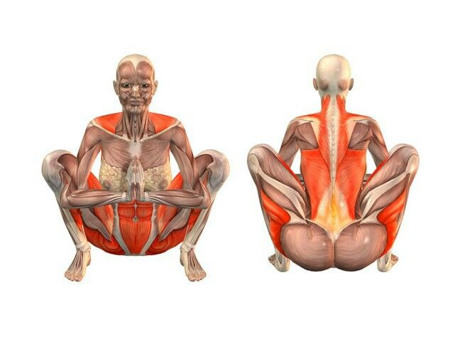 Malasana- such a great lower body stretch for tight hips, back and calves.
