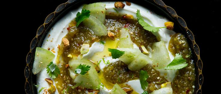 Learn to make a sweet and spicy tomatillo jam that can be served on its own over toast or stirred into yogurt for a savory dip.