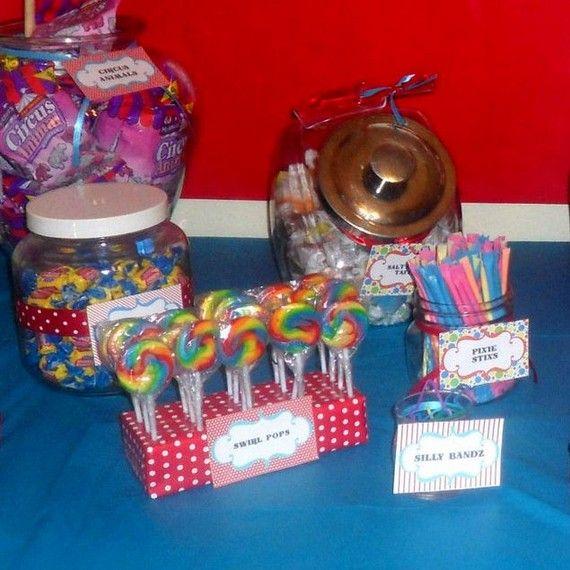 Customizable Printable Circus Birthday Party