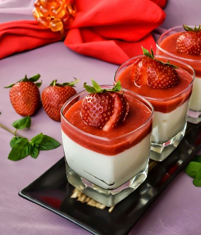 Recipe For White Chocolate Coconut Mousse - A fantastic Coconut Mousse that is great on its own, but it reaches a new level with strawberry sauce. This is a dairy-free decadent dessert.