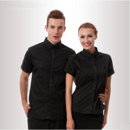8208f9de Uniform options. | RPG: Places | Waiter uniform, Restaurant uniforms ...
