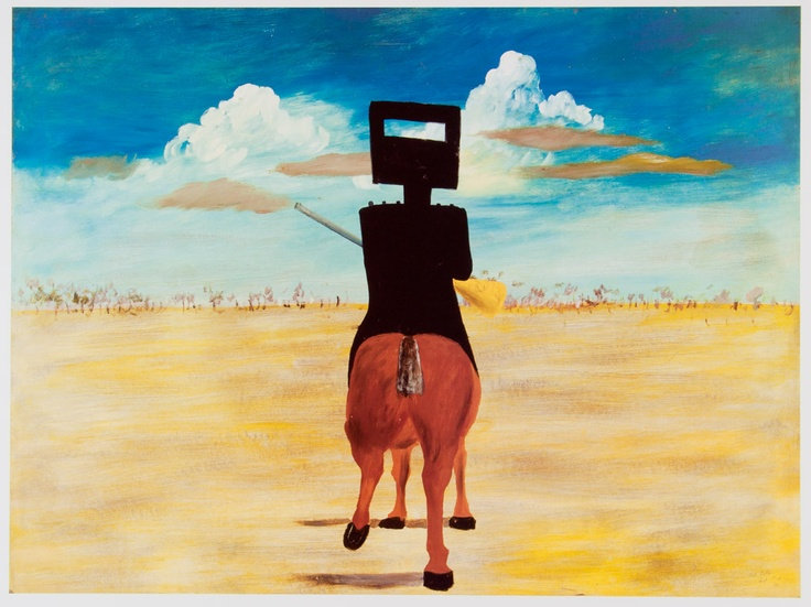 SIDNEY NOLAN - Ned Kelly