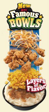 Fast Food News: KFC's 'Famous Bowls'
