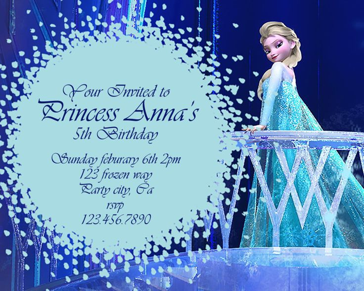 18 best frozen images on pinterest frozen party frozen birthday frozen birthday invitation disneys frozen by greyhoundgraphics filmwisefo