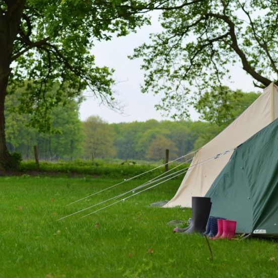 Landgoedcamping Buiten, kamperen in de natuur van Drenthe. http://www.bijzonderplekje.nl/ #bijzonderplekje
