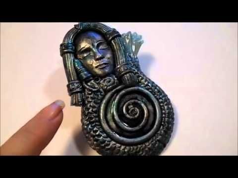 Polymer Clay Jewelry share for May 2015 - YouTube