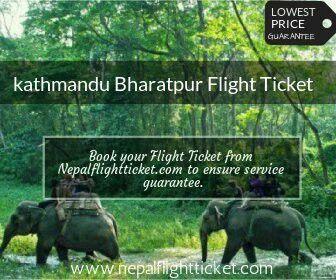 kathmandu Bharatpur flightis the convenient gateway to Chitwan National Park. we offerkathmandu Bharatpur flight ticketat best price.