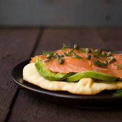 Smoked Salmon & Avocado Tartine - a buttery, flavorful open-faced ...