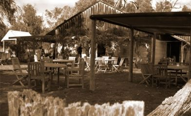 #CapeBouvard outdoor rotunda (gazebo) is a popular family dining area near the picturesque vineyards which supply us with fruit for wine production.