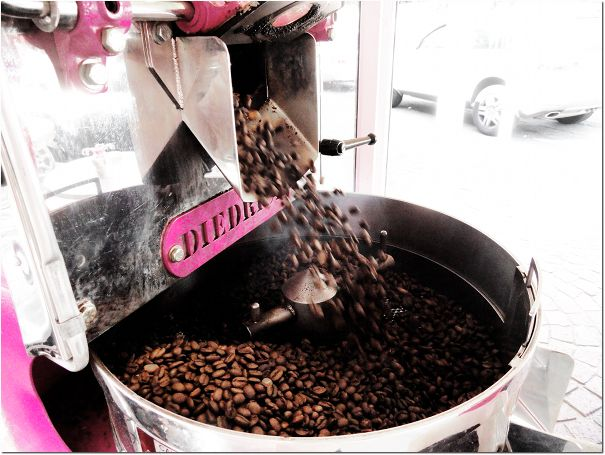 Freshly roasted 'Legendary Pink'