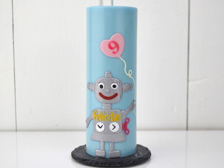 Geburtstagskerzen - Geburtstagskerze - ein Designerstück von miocolori-Kerzen bei DaWanda