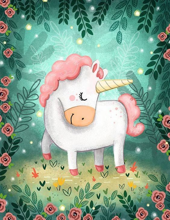 I generally think unicorns are overdone these days but loving this pic.