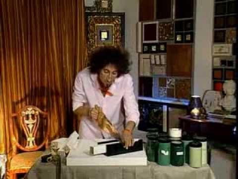 Декоративные страсти с Маратом Ка № 8 2006 Малахитовый стол - YouTube