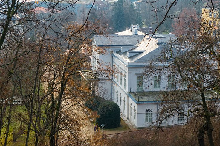 Praha, pohled z Petřinu