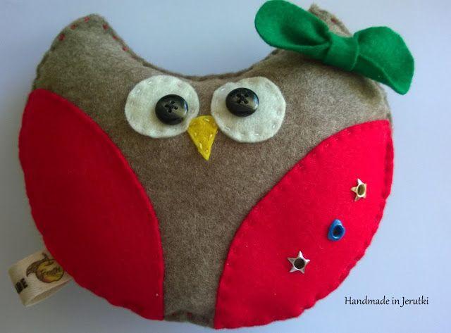 Handmade in Jerutki: Sówka Hania