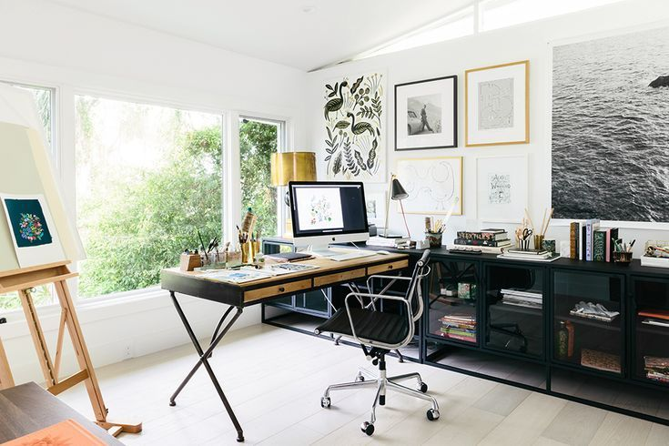 Anna Bond S Black And White Florida Home Feng Shui Office