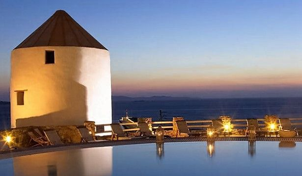 The perfect Sunset @PortoMykonos Hotel