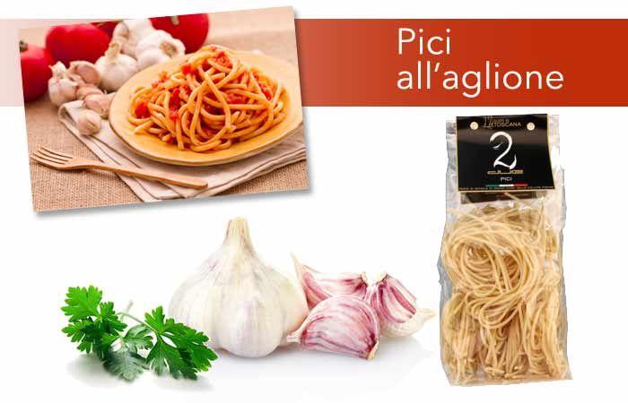 """Amanti dell' #aglio? Ti proponiamo una ricetta #toscana in cui potrai gustarlo in tutta la sua intensità. I Pici """"Gusti di Toscana"""" all'aglione! Scopri come prepararli qui>> http://www.gustiditoscana.it/ricette-primi.html #pasta #madeinitaly"""