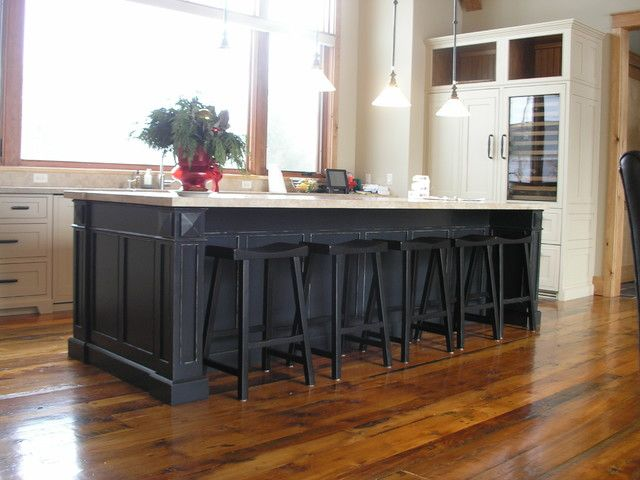 50 best images about large kitchen island on pinterest for Kitchen design 6 x 8