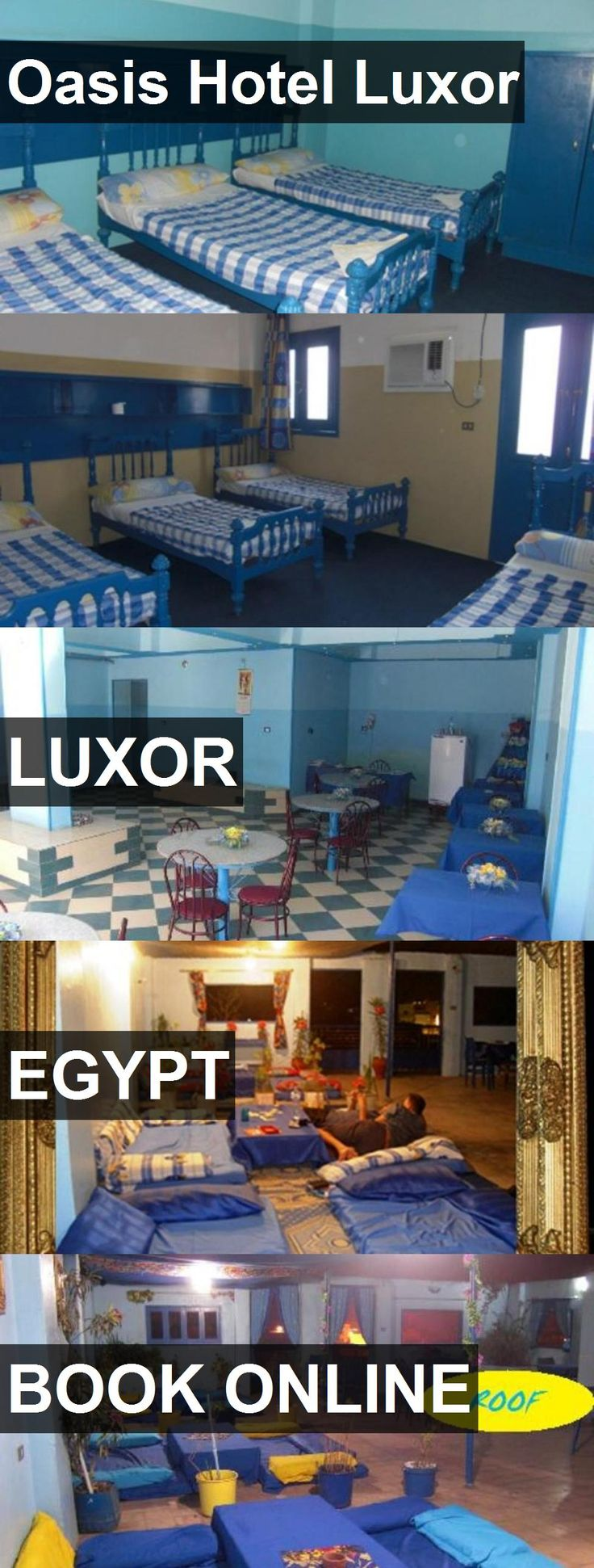 Oasis Hotel Luxor in Luxor, Egypt. For more information, photos, reviews and best prices please follow the link. #Egypt #Luxor #travel #vacation #hotel