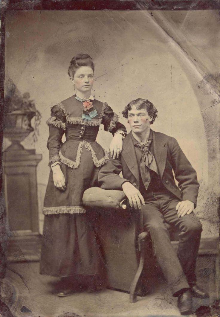 Couple Vintage Portrait Pinterest