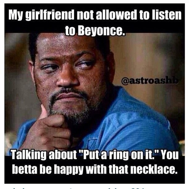 My Girlfriend Is Not Allowed To Listen To Beyonce - NoWayGirl