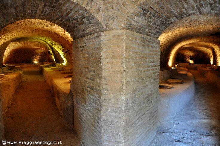 Vino spagnolo, la cantina sotterranea del Celler del Roure #regionedivalenciatrip http://www.viaggiaescopri.it/vino-spagnolo-nella-giara-valencia/