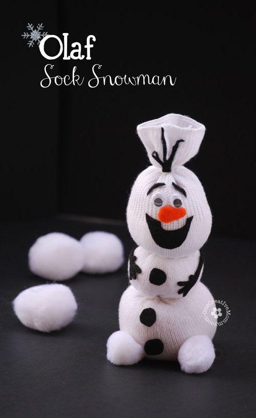 Frozen DIY Olaf Sock Snowman Tutorial