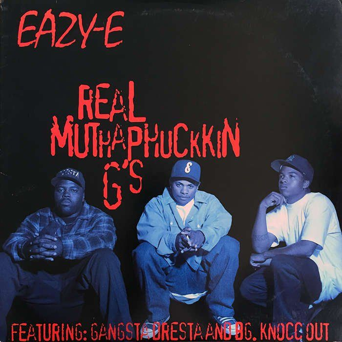 Eazy-E's legendary response to Dr. Dre and his new then new protege Snoop Doggy Dogg's numerous disses on The Chronic album, most notably Dre Day. Eazy was flanked by Compton's